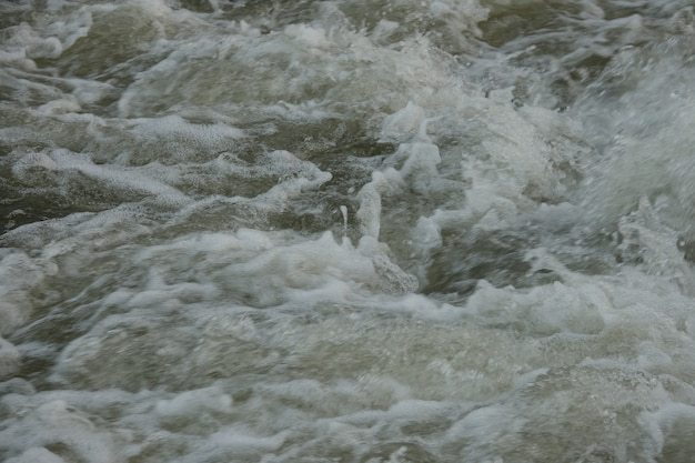 Foto de água visto de cima