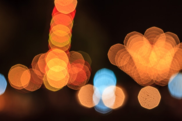 Foto de luzes de bokeh