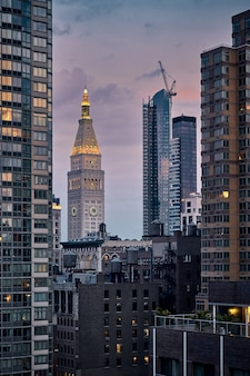 Foto de tirar o fôlego da metropolitan life insurance tower