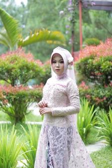 Foto de uma mulher muçulmana casada