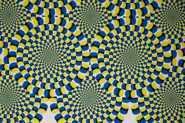 Foto de vetor gráfico de ilusão psicodélica