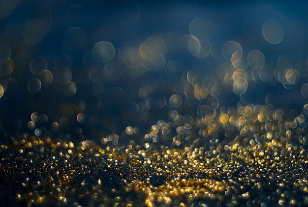 Foto desfocada abstrata de explosão de luz de bokeh e texturas. luz multicolorida