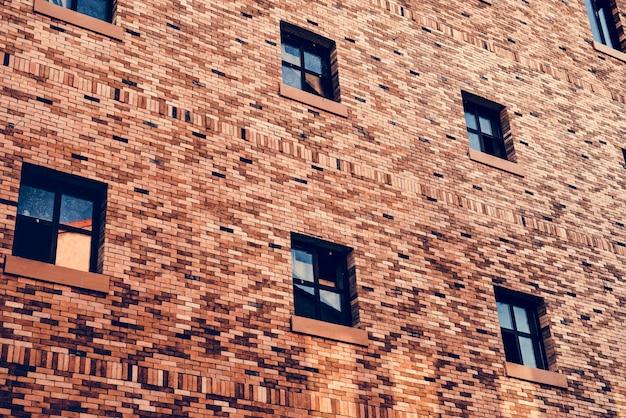 Foto do apartamento decorado por tijolo arquitetônico