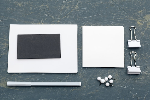 Foto. modelo para identidade de marca. para designers gráficos, apresentações e portfólios