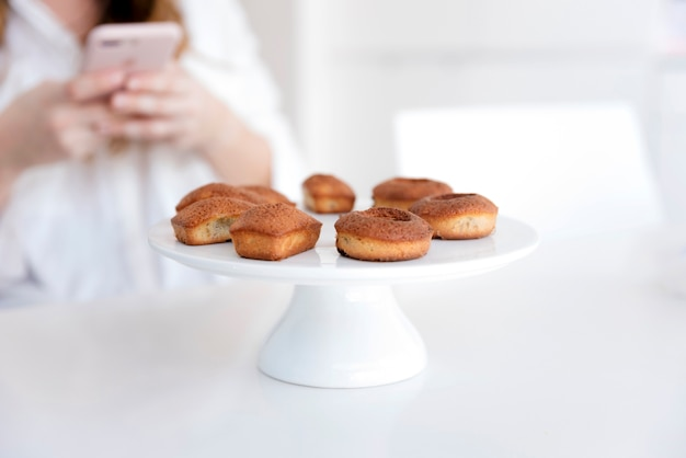 Fotografando donuts