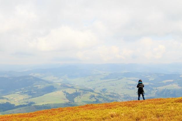 Fotografia de paisagem nas montanhas dos cárpatos