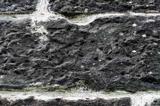 Fotografia textura da parede de pedra