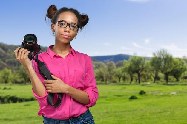 Fotógrafo afro-americano