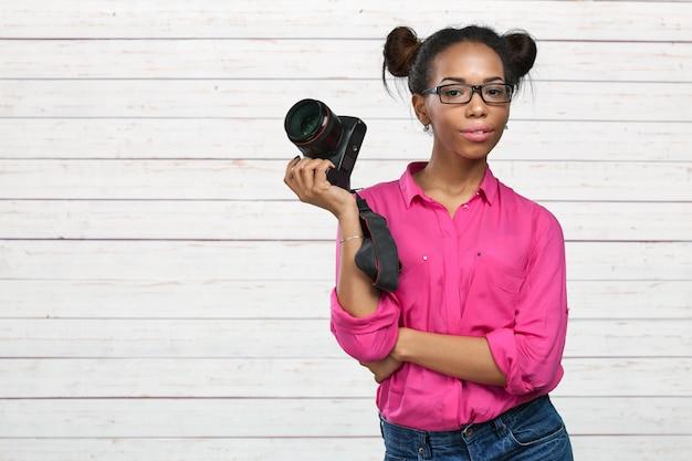 Fotógrafo americano africano