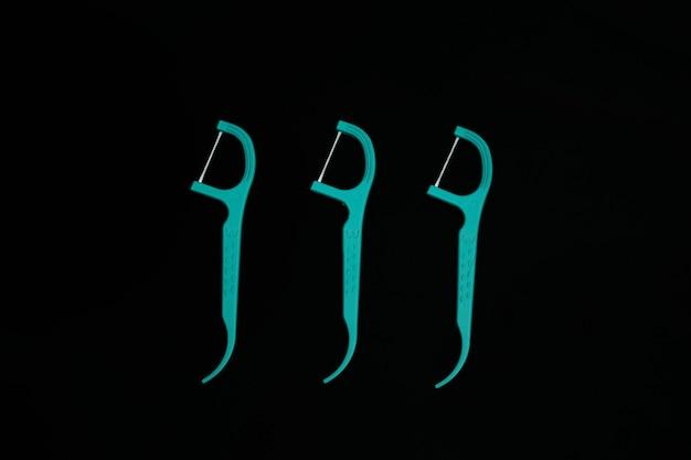 Fotos de fio dental não utilizado
