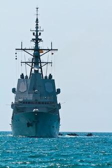 Fragata f-101 alvaro de bazan barco