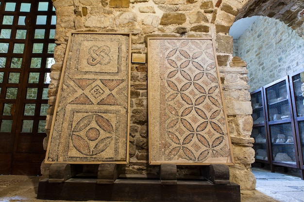 Fragmento de mosaico de chão, porec