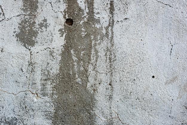 Fragmento de parede com fundo de arranhões e rachaduras