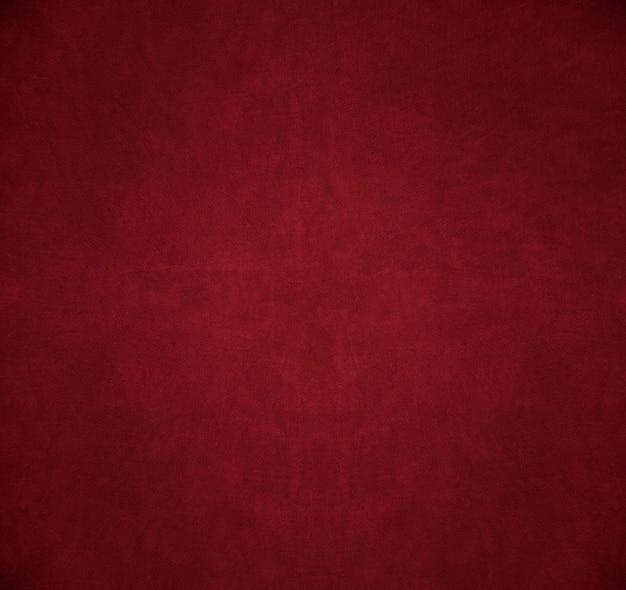 Fragmento vermelho de textura vintage de couro