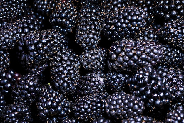 Framboesa orgânica e nutritiva no mercado