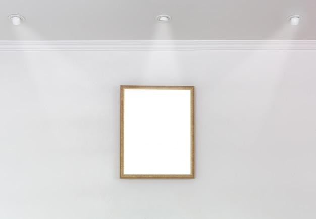 Frame decorativo com três projectores