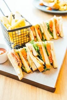 Frango sanduíche