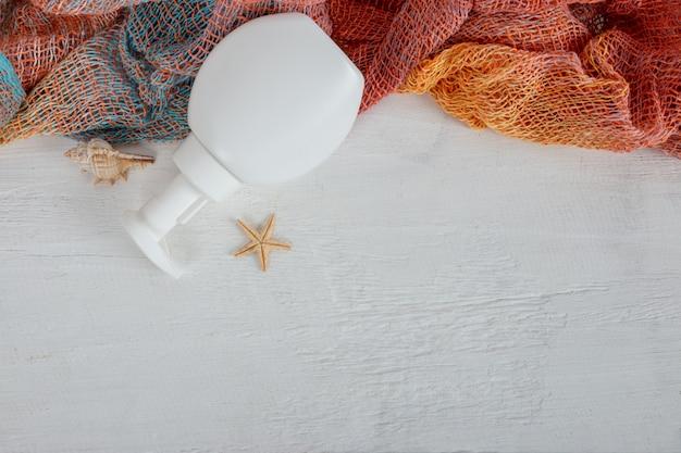 Frasco cosmético pode pulverizador recipiente.