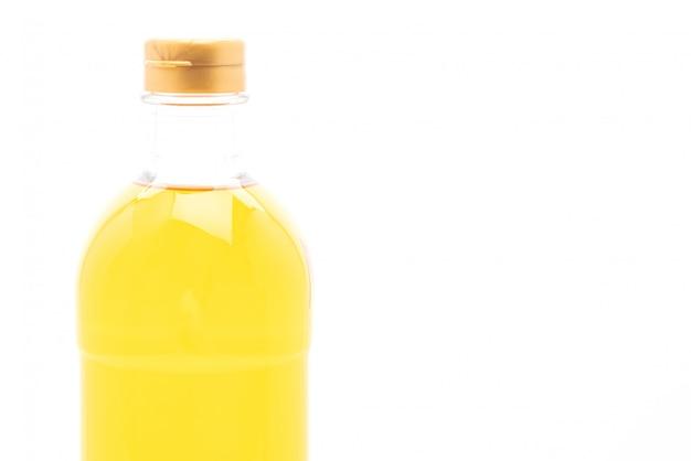 Frasco de óleo branco