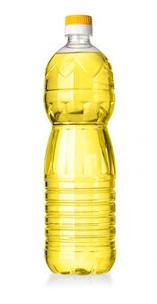 Frasco de óleo isolado