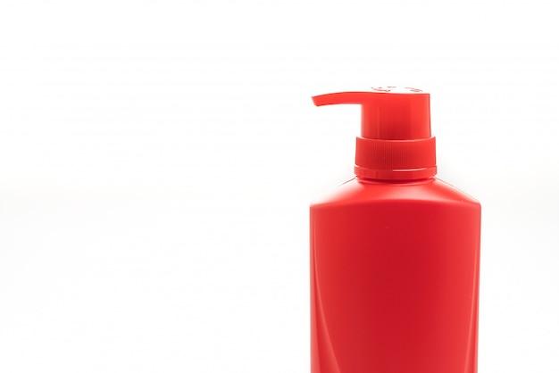 Frasco de shampoo cabelo