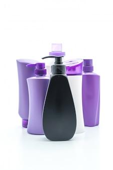 Frasco de shampoo ou condicionador de cabelo