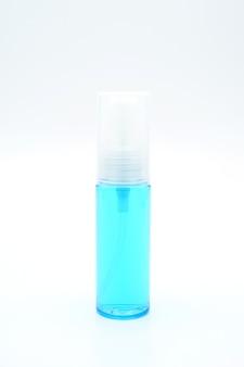 Frasco de vidro de remédio para álcool