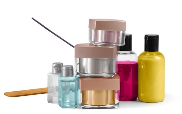 Frascos de cosméticos