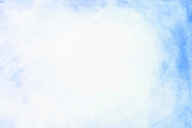 Fronteira da tinta azul