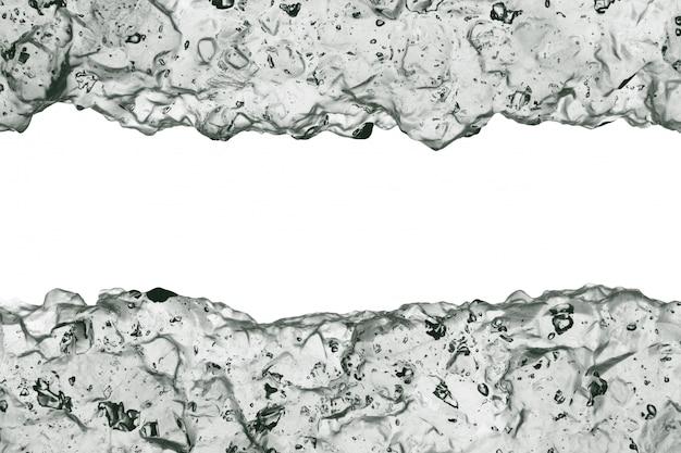 Fronteira de geléia cosmética clara