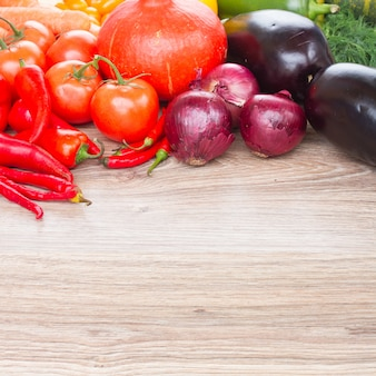 Fronteira de legumes