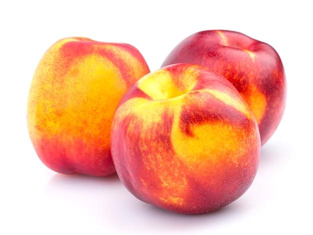 Fruta da nectarina inteira