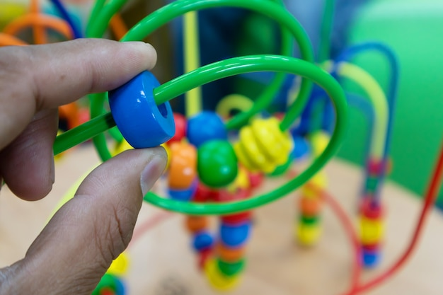 Fruta de brinquedo plástico para o desenvolvimento do cérebro para crianças