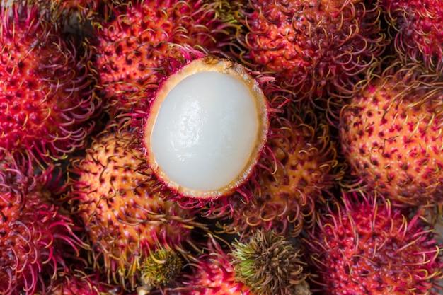Fruta do rambutan