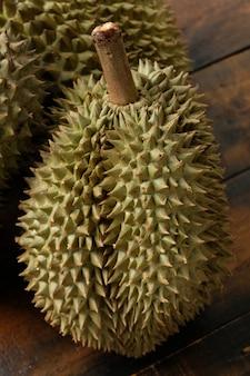 Fruta durian mon thong da tailândia