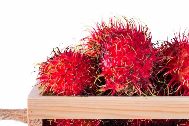 Fruta rambutan da tailândia