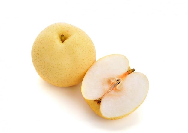 Fruta tropical de pera chinesa isolada
