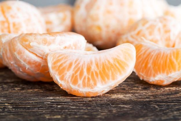 Frutas cítricas maduras