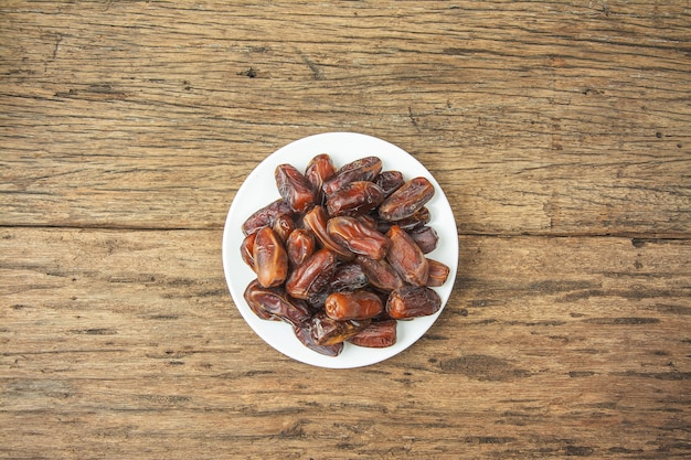 Frutas de tamareira ou kurma, ramadan food