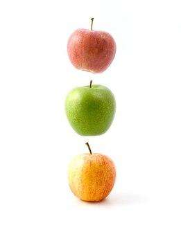 Frutas de tráfego luzes flutuantes maçãs levitar