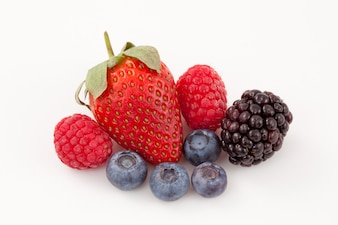 Frutas dispostas juntas