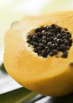 Frutas e sobremesas frescas