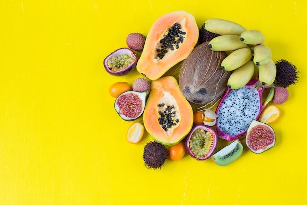 Frutas exóticas sortidas