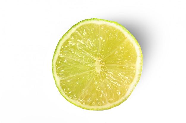 Frutas frescas de limão isoladas