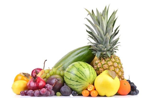 Frutas frescas e deliciosas