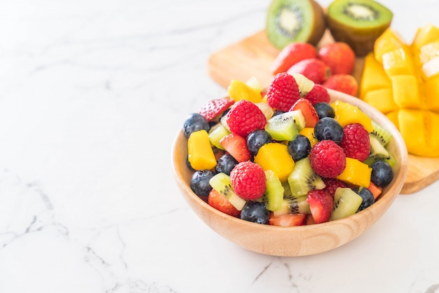 Frutas frescas misturadas