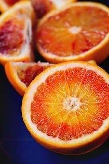 Frutas laranja-sangue
