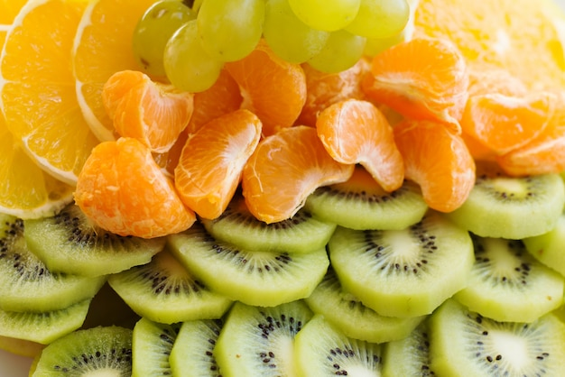 Frutas maduras frescas sortidas