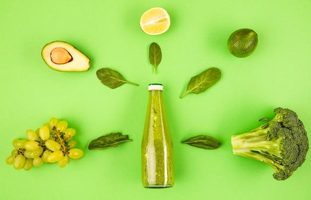 Frutas orgânicas para smoothie