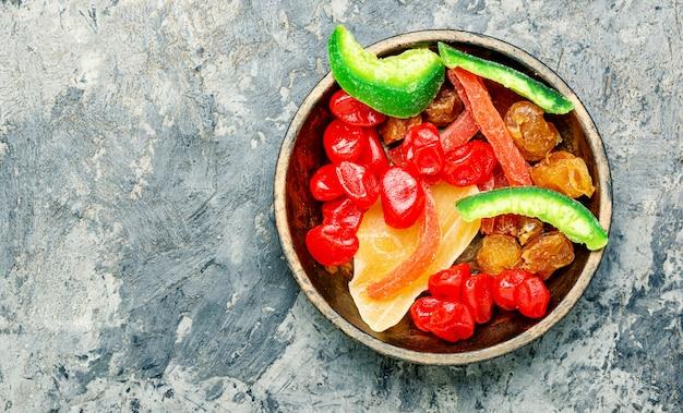 Frutas secas exóticas